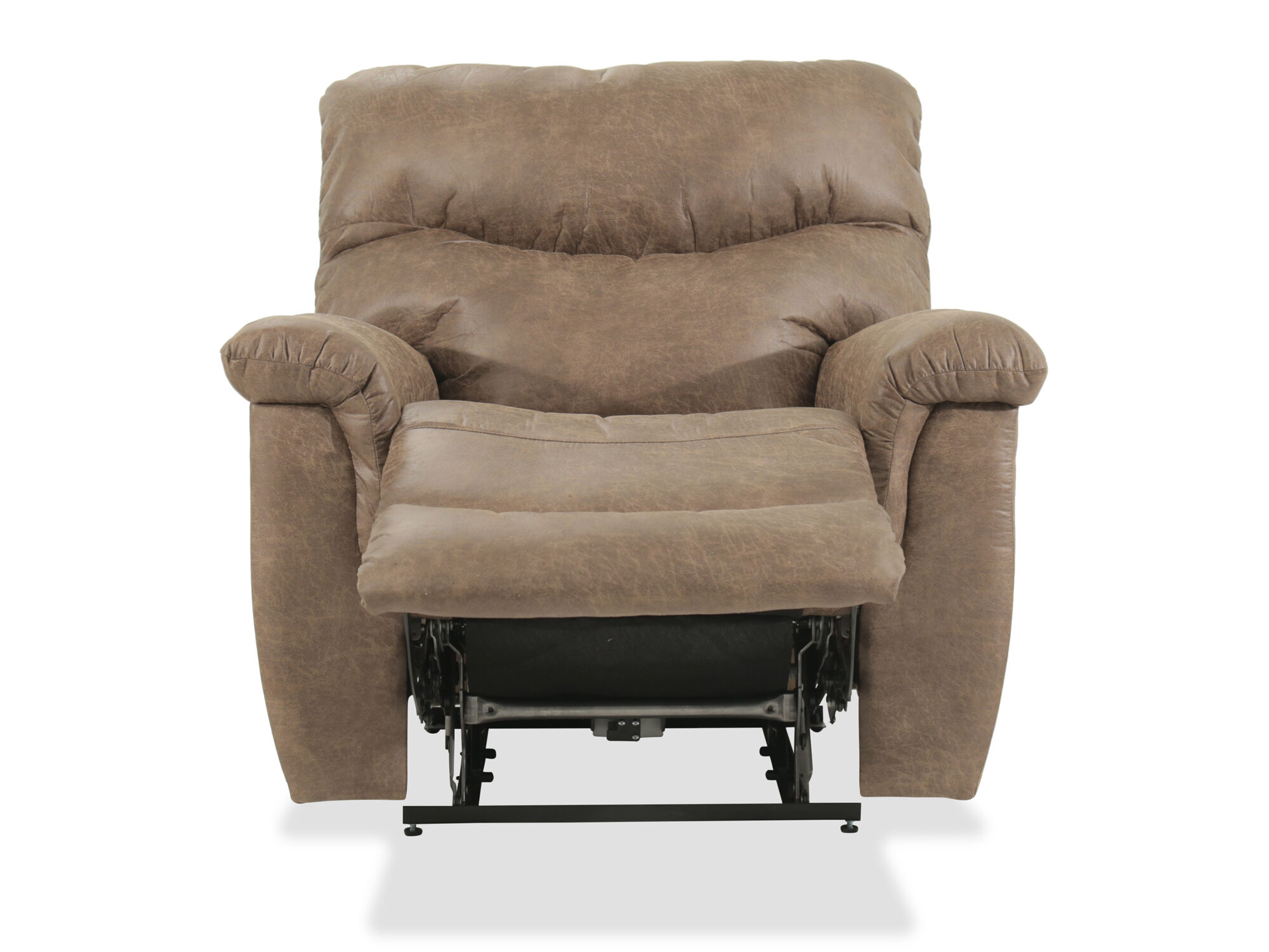 Recliner Pillow Pillow Top Arms Casual 42 5 Power Recliner In Brown Mathis